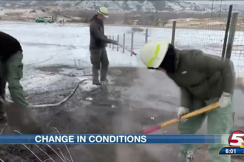 Change in conditions