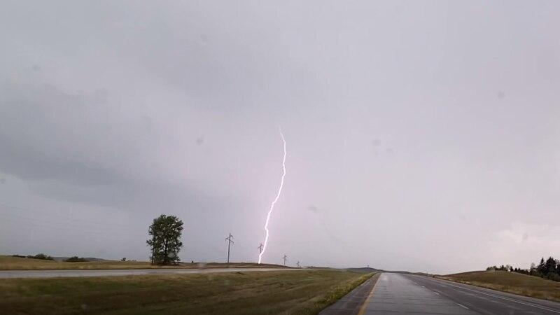 Lightning near New Salem